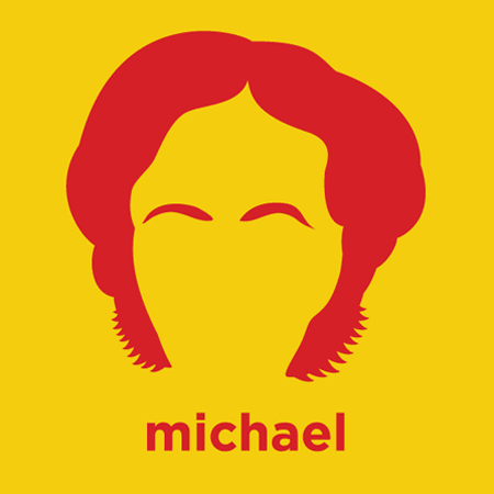 Michael Faraday - Die Cut Vinyl Sticker Decal