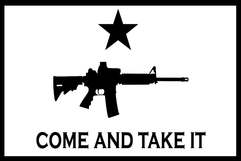 Molon Labe AR-15 Come and Take It | Die Cut Vinyl Sticker Decal | Sticky Addiction