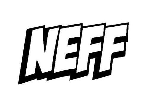 Neff Text Logo | Die Cut Vinyl Sticker Decal | Sticky Addiction