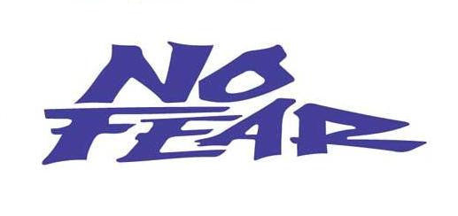 No Fear Logo | Die Cut Vinyl Sticker Decal | Sticky Addiction