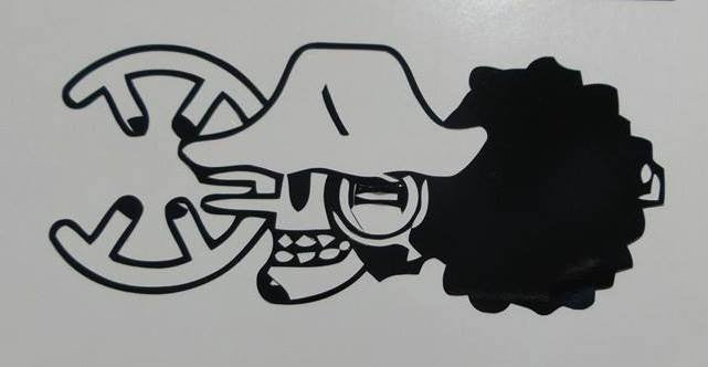 One Piece Anime Usopp Jolly Roger Pirate Flag | Die Cut Vinyl Sticker Decal