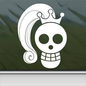 One Piece Crowned Skull Princess | Die Cut Vinyl Sticker Decal
