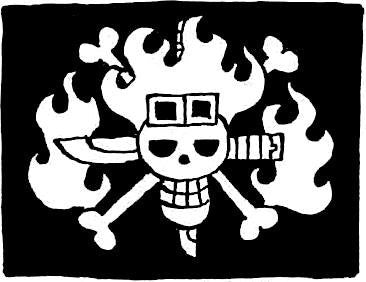 One Piece Jolly Roger Variation5 | Die Cut Vinyl Sticker Decal