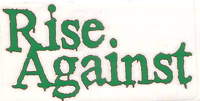 Rise Against | Die Cut Vinyl Sticker Decal | Sticky Addiction