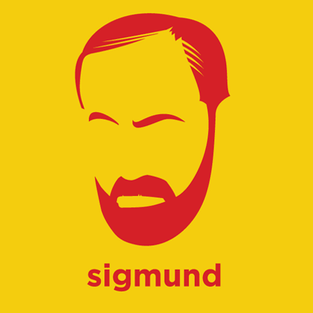 Sigmund Freud - Die Cut Vinyl Sticker Decal