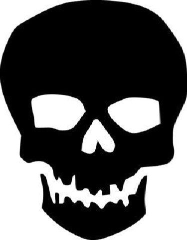 Skull Death | Die Cut Vinyl Sticker Decal | Sticky Addiction
