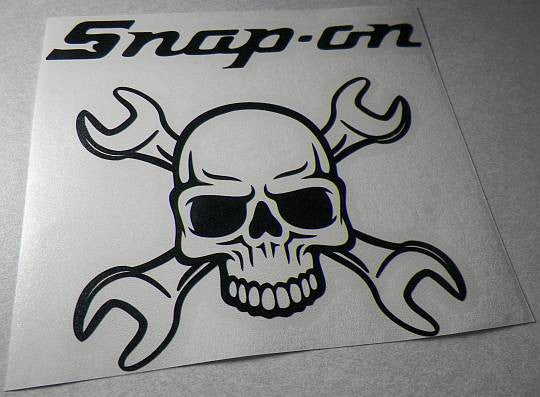 JDM Snap on Tools Toolbox Skull Wrench Japanese Drift Racing  | Die Cut Vinyl Sticker Decal | Sticky Addiction