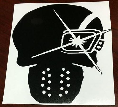 Suicide Squad Deadshot Skull | Die Cut Vinyl Sticker Decal