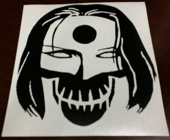 Suicide Squad Katana Skull | Die Cut Vinyl Sticker Decal