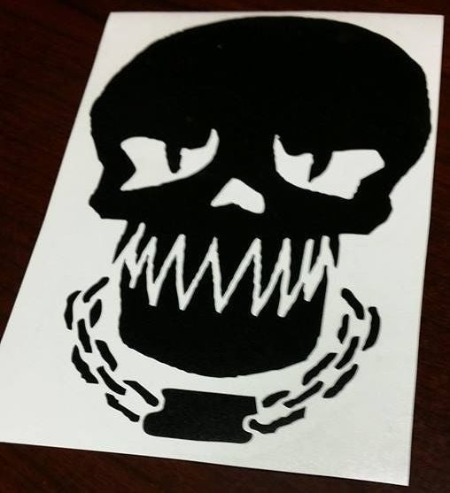 Suicide Squad Killercroc Skull | Die Cut Vinyl Sticker Decal