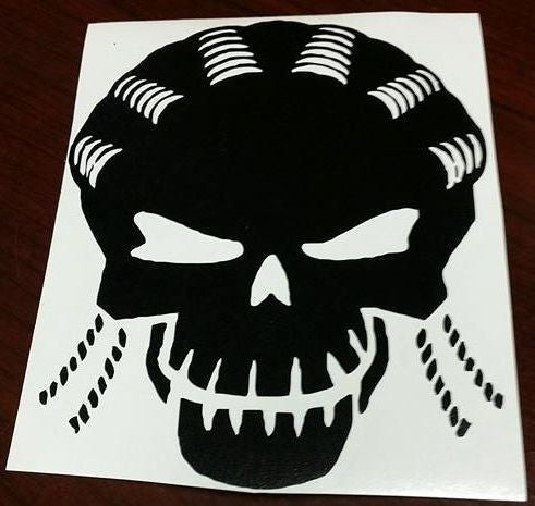 Suicide Squad Slipknot Skull | Die Cut Vinyl Sticker Decal