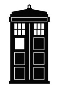 Doctor Who Tardis Stencil | Die Cut Vinyl Sticker Decal | Sticky Addiction