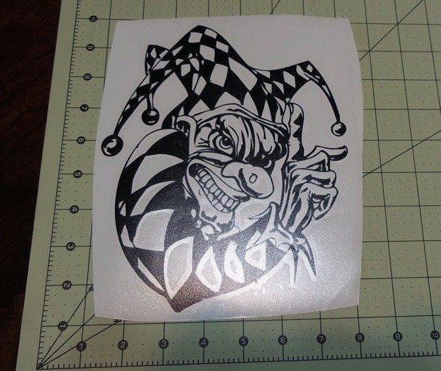 The Jester | Die Cut Vinyl Sticker Decal | Sticky Addiction