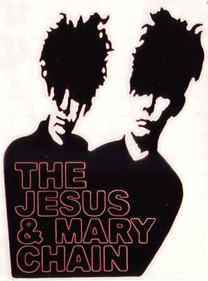 The Jesus And Mary Chain | Die Cut Vinyl Sticker Decal | Sticky Addiction