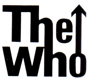 The Who Band | Die Cut Vinyl Sticker Decal | Sticky Addiction