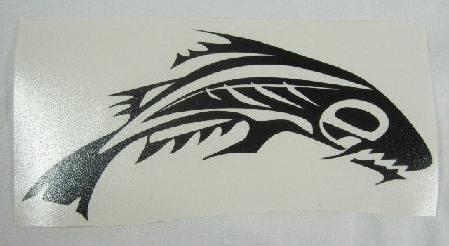 Tribal Fish | Die Cut Vinyl Sticker Decal | Sticky Addiction
