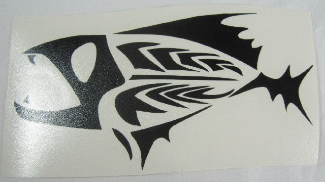 Tribal Fish Variant | Die Cut Vinyl Sticker Decal | Sticky Addiction