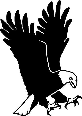 Eagle | Die Cut Vinyl Sticker Decal | Sticky Addiction