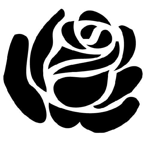 Rose | Die Cut Vinyl Sticker Decal | Sticky Addiction