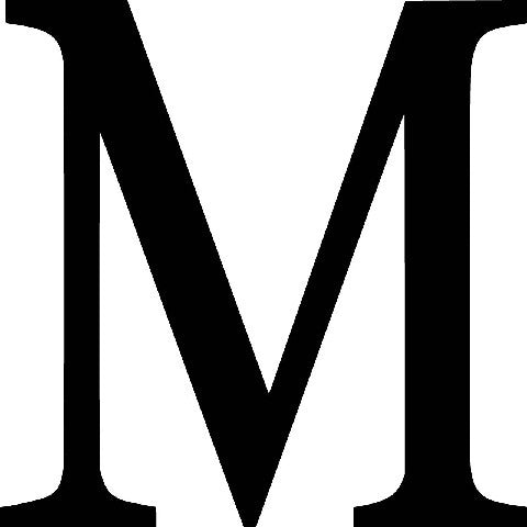 greek letter mu mu frat letter die cut vinyl sticker decal 10702 | x 09 grande