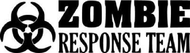 Zombie response team | Die Cut Vinyl Sticker Decal | Sticky Addiction