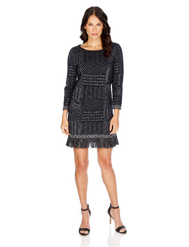 Jacquard Dress by Lucky Brand