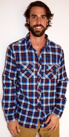 OWB Tremblant LS Flannel