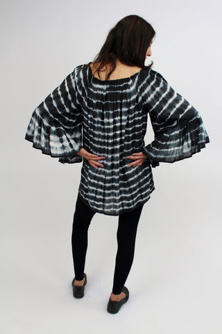 Elan Off Shoulder Ruffles Top