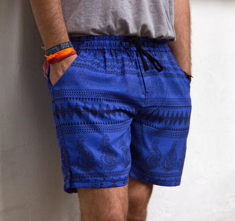 Deep Blue Shorts by OWB