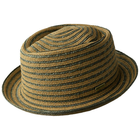 Kangol Osage Braid Pork Pie Tan