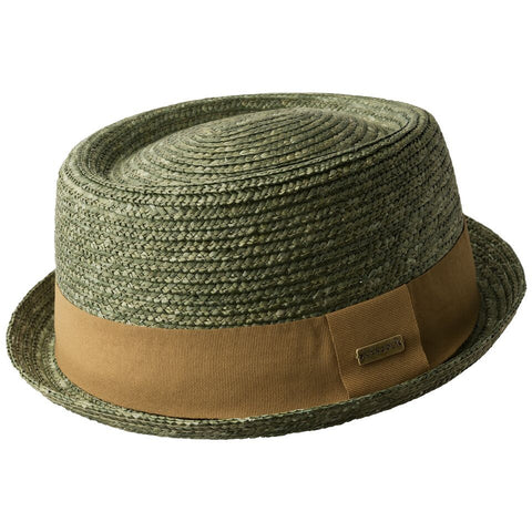 Kangol Wheat Braid PorkPie Laurel
