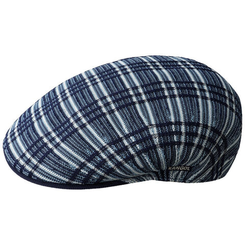 Kangol Rib Plaid 504 Navy