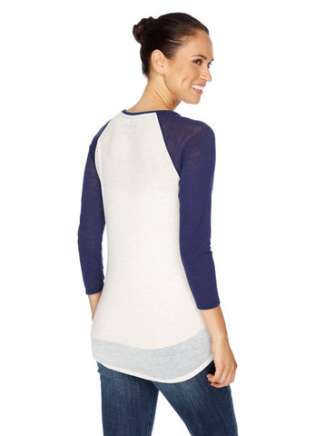Triumph Baseball Tee by Lucky Brand