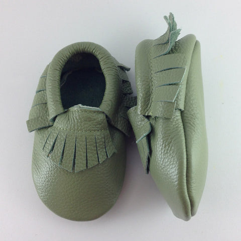 Forrest Green - Baby Moccasins