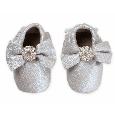 Crystal Shine - Baby Moccasins