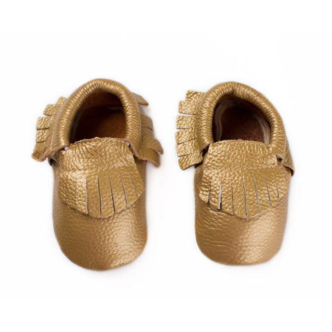 Canary Gold - Baby Moccasins