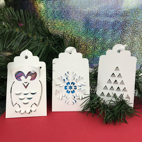 Holiday set 3 gift card holders