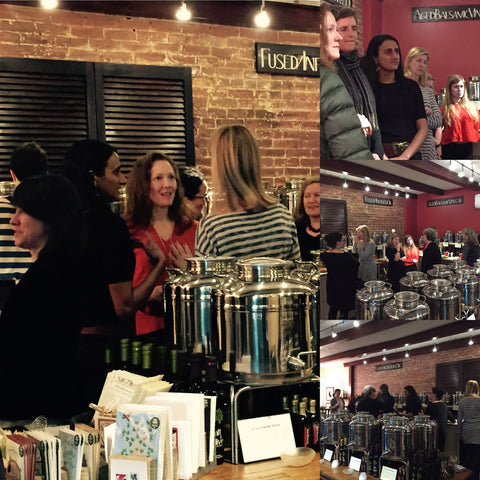 Pleiades Network private tasting at Salt and Olive in Cambridge Massachusetts