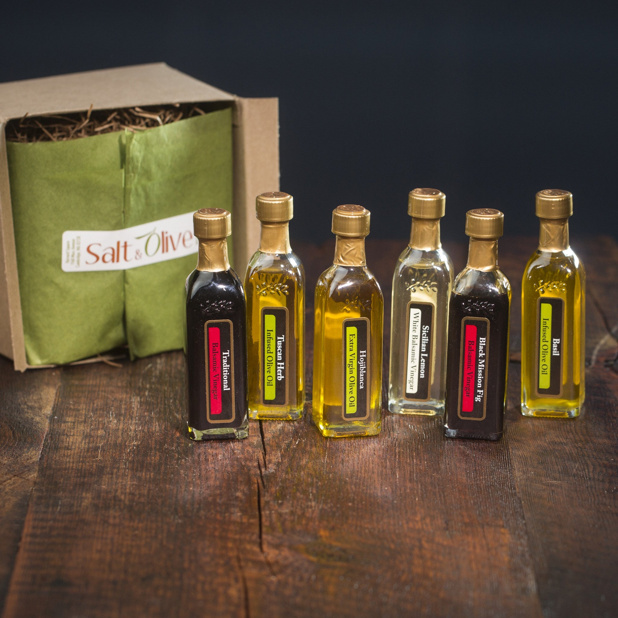 Best Sellers EVOO and Aged Balsamic