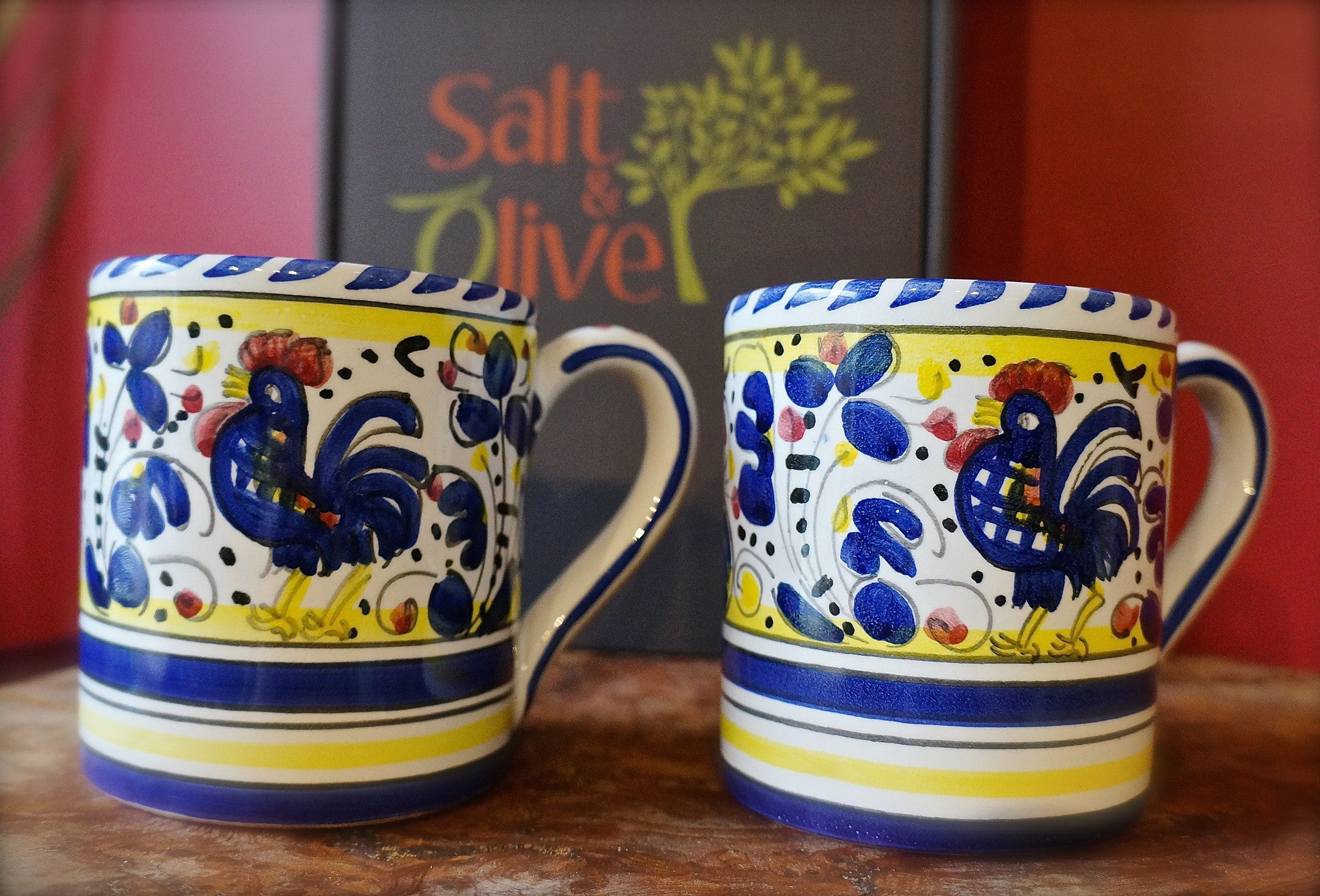 Deruta Galletto 'Rooster' Coffee/Tea Mug