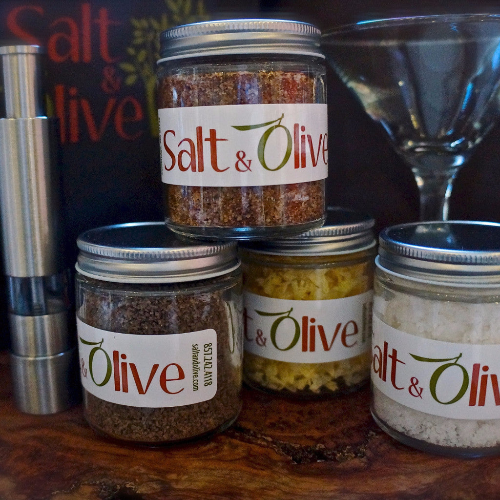Cocktail Lover's Salt & Single Mill Gift Set