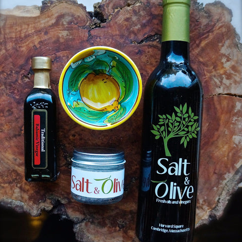 Perfect Olive Oil and Balsamic Bread Dipping Kit