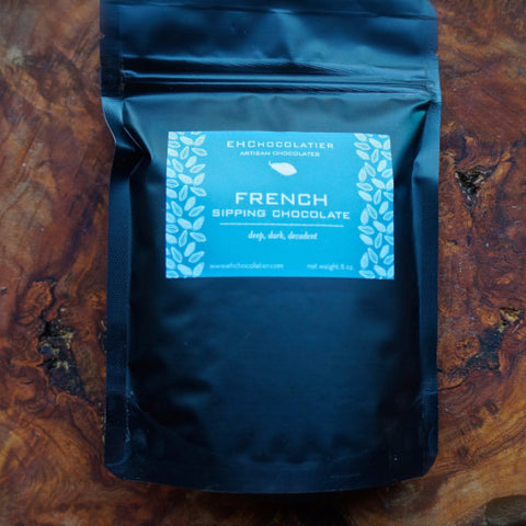 French Sipping Chocolate (Le Chocolat Chaud) by EH Chocolatiers
