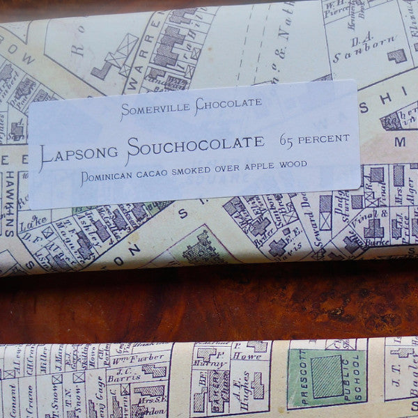 Lapsang Souchong (Smoked) Chocolate Bar by Somerville Chocolate