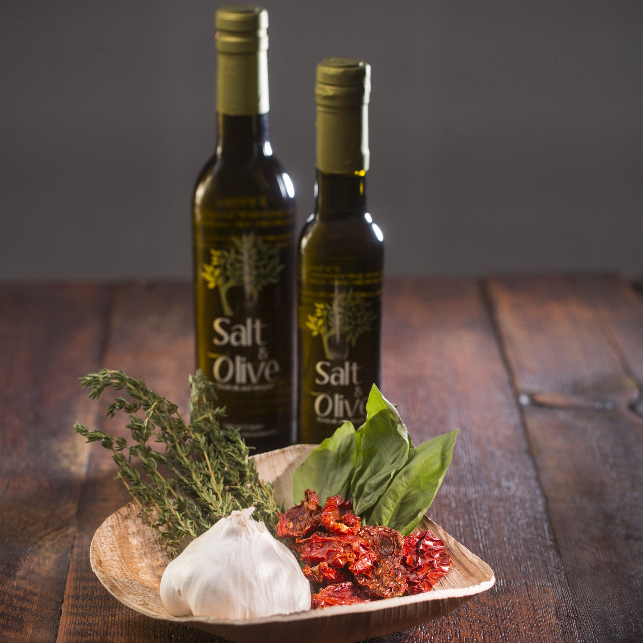 All Natural Tuscan Herb Infused Olive Oil