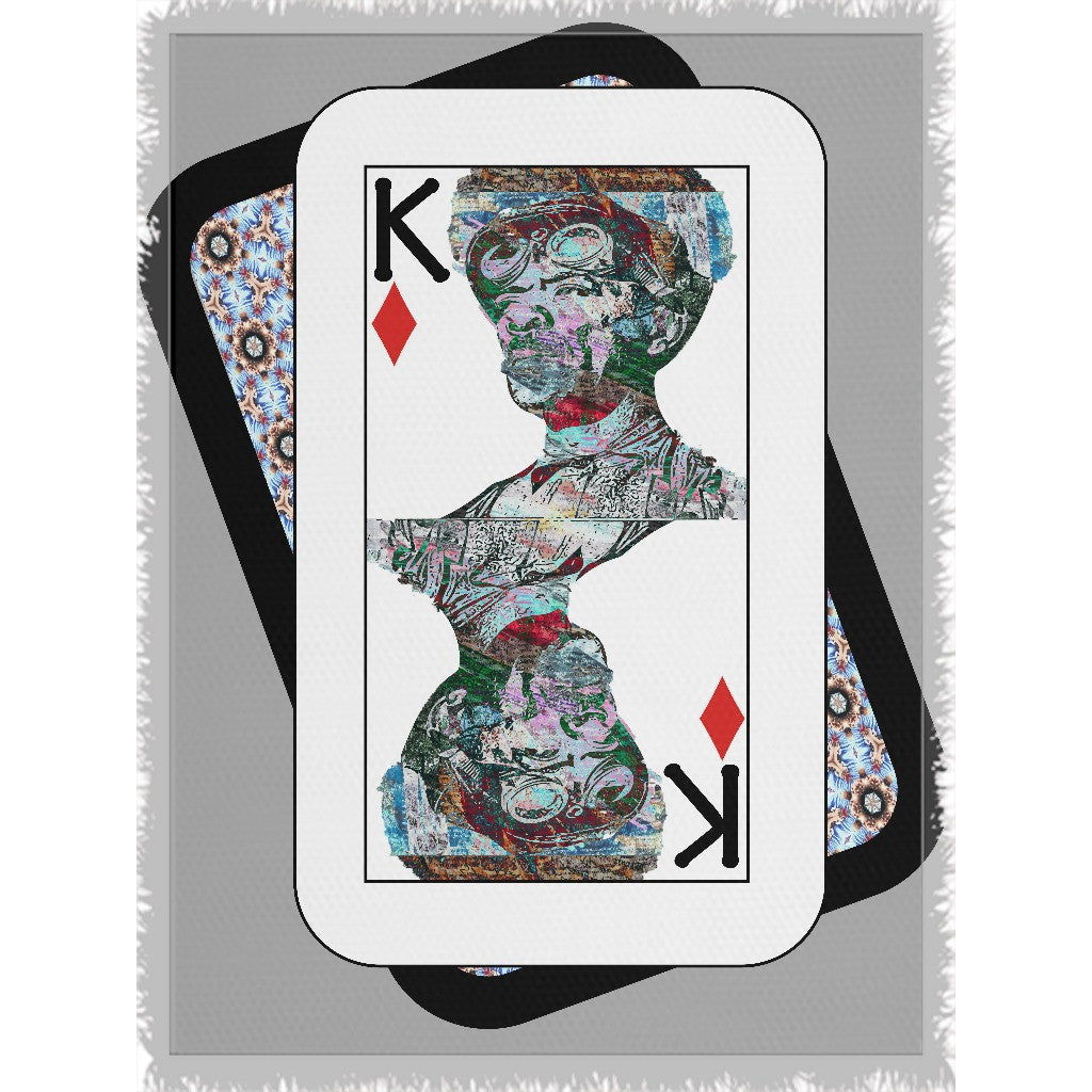 Play Your Hand...King Diamond No. 2 Woven Blanket