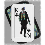 Load image into Gallery viewer, Play Your Hand...King Club No. 1 Woven Blanket