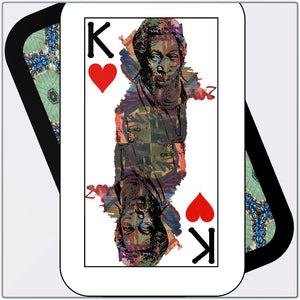 Play Your Hand...King Heart No. 1 Metal Print