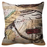Word on the Curb Throw Pillow