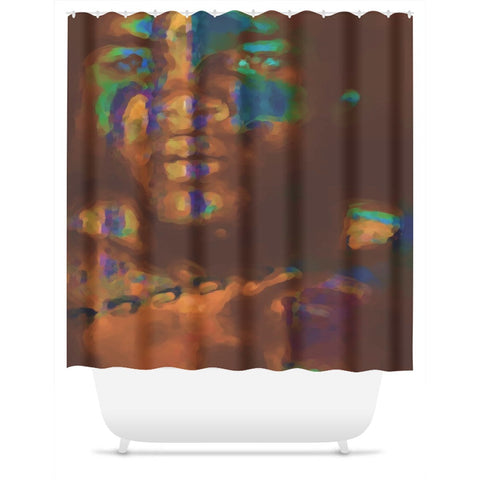 Through The Looking Glass Shower Curtain